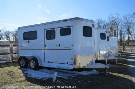 2 Horse Trailer - 2019 Sundowner Charter 2H BP WARM BLOOD W/DR available New in Newfield, NJ