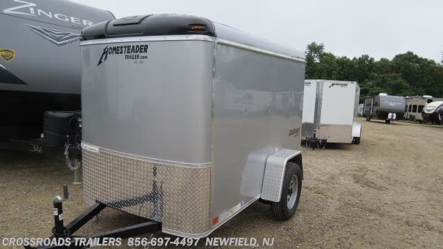 #7946 - 2019 Homesteader Challenger 5x8 ENCLOSED CARGO TRAILER for sale in  Newfield NJ