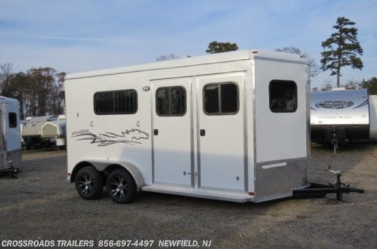 2 Horse Trailer - 2020 Homesteader Stallion 2 H WARMBLOOD W/DR RM available New in Newfield, NJ