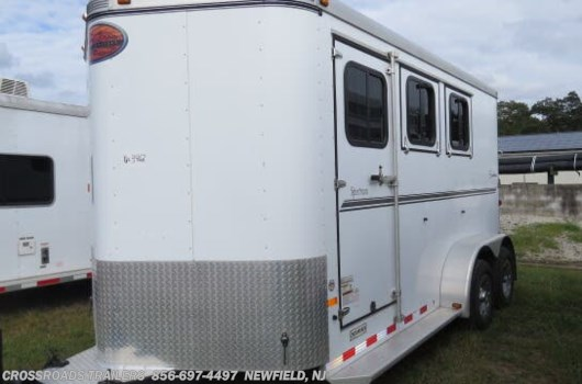 3 Horse Trailer - 2011 Sundowner Sportman 3H Slant Load All Aluminum Bumper Pull available Used in Newfield, NJ