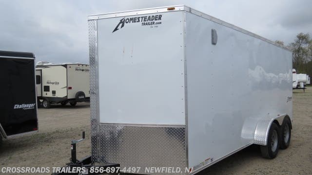 2020 Intrepid 7x14 Enclosed Cargo Trailer by Homesteader from Crossroads Trailer Sales, Inc. in Newfield, New Jersey