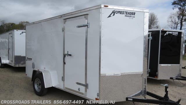 New 2020 Homesteader Intrepid 6X12 ENCLOSED CARGO TRAILER available in Newfield, New Jersey