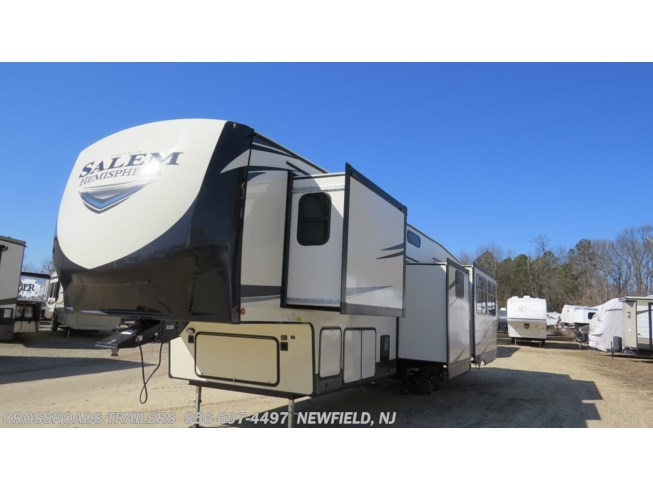 2020 Salem Hemisphere GLX 370BL by Forest River from Crossroads Trailer Sales, Inc. in Newfield, New Jersey