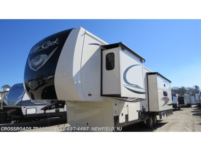 2021 Cedar Creek Hathaway Edition 34IK by Forest River from Crossroads Trailer Sales, Inc. in Newfield, New Jersey