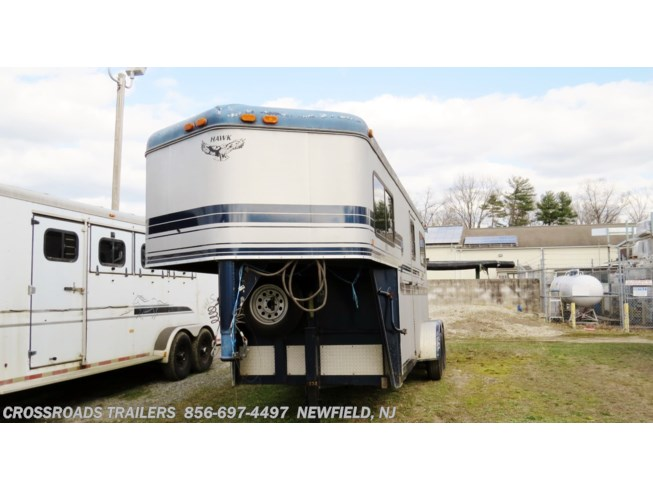 Used 2000 Hawk Trailers 2 H Warmblood w/dr room available in Newfield, New Jersey