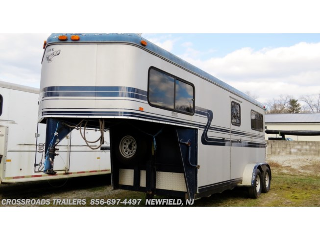 2000 2 H Warmblood w/dr room by Hawk Trailers from Crossroads Trailer Sales, Inc. in Newfield, New Jersey
