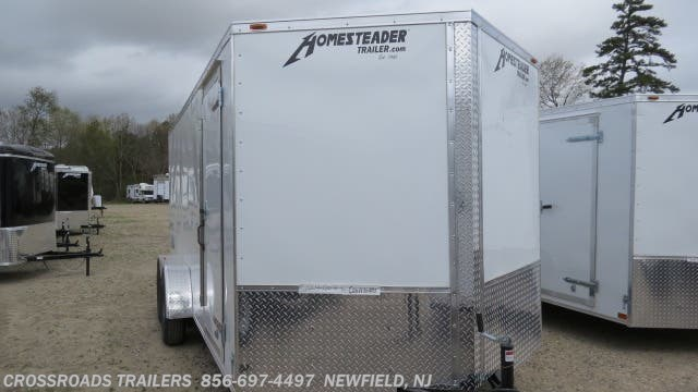 New 2020 Homesteader Intrepid 7x16 Enclosed Cargo Trailer available in Newfield, New Jersey