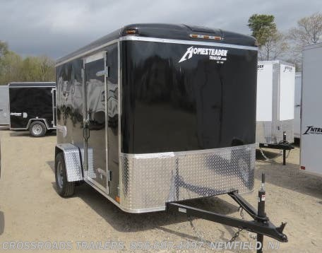New 2020 Homesteader Challenger 6x12 Enclosed Cargo Trailer available in Newfield, New Jersey