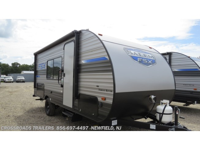 New 2021 Forest River Salem FSX 179DBK available in Newfield, New Jersey