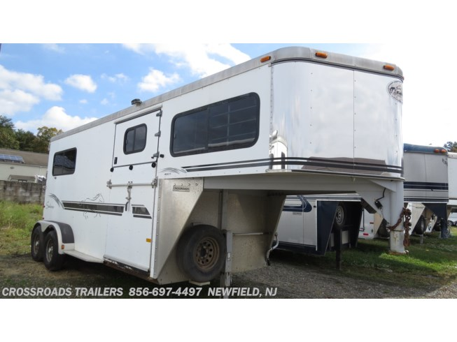 Used 2000 Sundowner ValueLite 2 Horse with side ramp no dress room available in Newfield, New Jersey