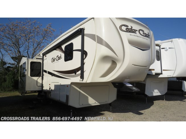 Used 2016 Forest River Cedar Creek Silverback 29RE available in Newfield, New Jersey