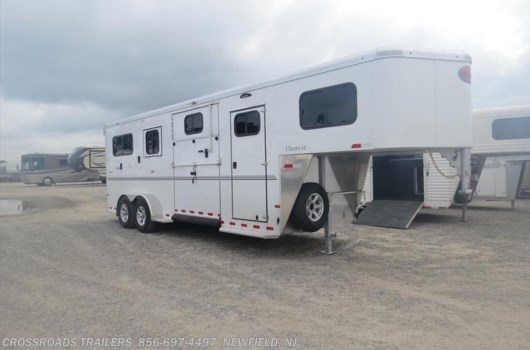 3 Horse Trailer - 2021 Sundowner Charter CHARTER GN 2+1 STRAIGHT LOAD w/dr room available New in Newfield, NJ