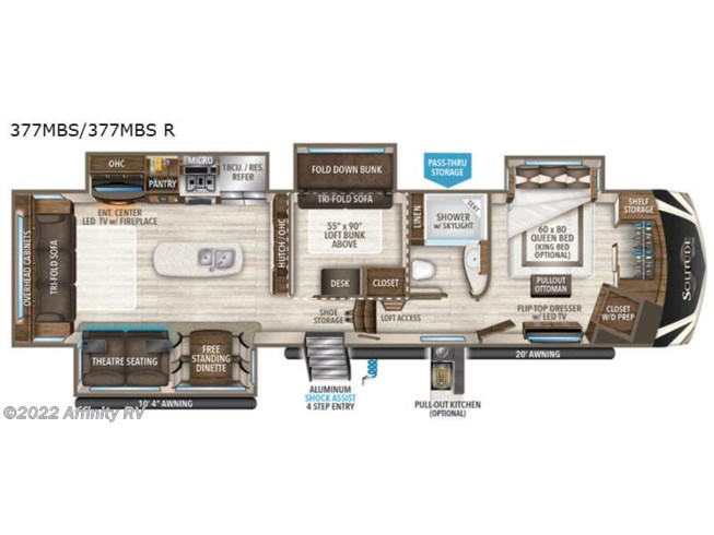New 2021 Grand Design Solitude 377MBS R available in Prescott, Arizona