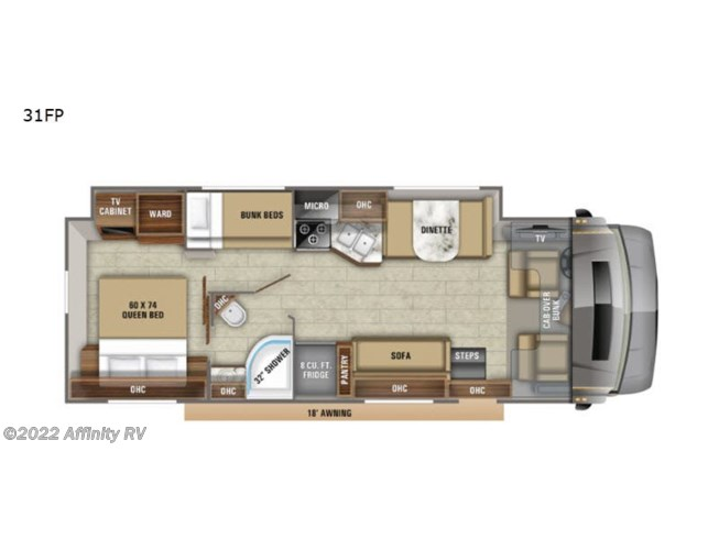 New 2021 Jayco Greyhawk Prestige 31FP available in Prescott, Arizona
