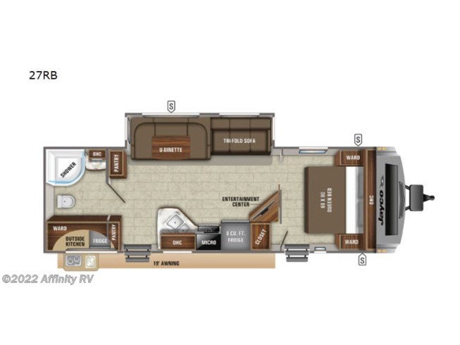 New 2021 Jayco White Hawk 27RB available in Prescott, Arizona