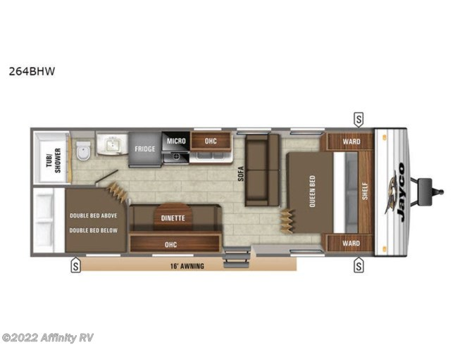 New 2021 Jayco Jay Flight SLX Western Edition 264BHW available in Prescott, Arizona