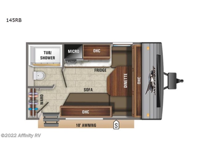 New 2021 Jayco Jay Flight SLX 7 145RB available in Prescott, Arizona