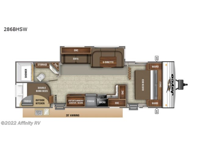 New 2021 Jayco Jay Flight SLX Western Edition 286BHSW available in Prescott, Arizona