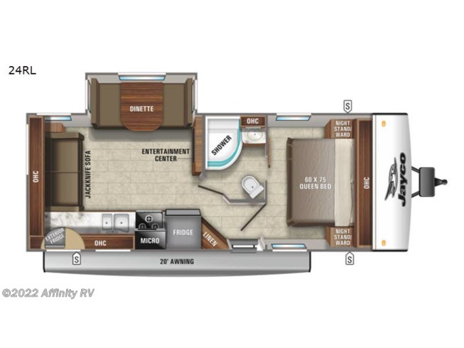 New 2021 Jayco Jay Feather 24RL available in Prescott, Arizona